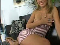 Kimberley's pussy encounters the cock of her dreams
