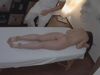 Young Czech babe visits a massage salon