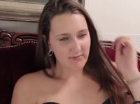 Young secretary enjoys toying herself on cam