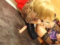 Two crazy bi-chicks get drowned in sperm