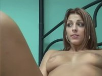 Susan plays with her wet pussy