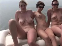 Naked bitches on a yacht