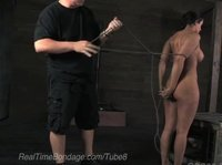 A new obedient slave comes to the dungeon