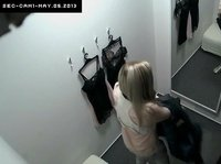 Spying on chicks in the dressing rooms