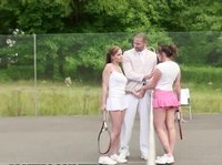 Big tennis for young chicks