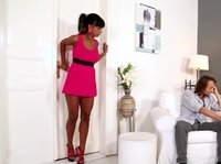 This horny chick needs a lot more than her cuckold boyfriend can offer