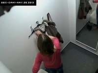 A young Czech chick is changing having no idea there's a spycam in the room