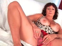 Her mature hairy pussy is missing a gentle touch