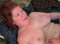 A chubby granny will do anything for a young hard dick