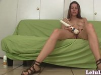 Lelu Love's adventures with the new vibrator