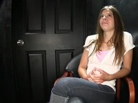 A teen girl gets to know what a gloryhole means