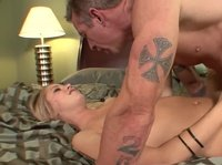 Busty Blonde Fucked In The Bedroom