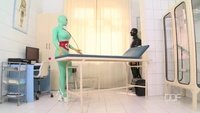 Latex doctor fucked by patient