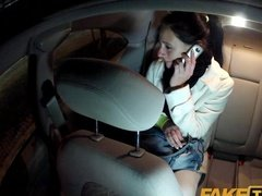 Taxi driver cheats the passenger and made her suck his dick