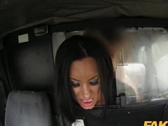 Slutty Bitch Fucked In The Taxi