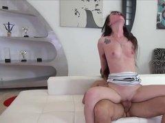 Young Slut Fucks & Gets Facialed