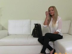 Busty Slut On The Casting Couch